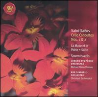 Saint-Saëns: Cello Concertos Nos. 1 & 2 - Francis Grier (organ); Joshua Bell (violin); Steven Isserlis (cello)