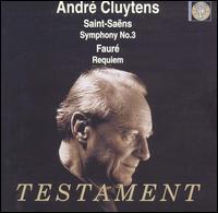 Saint-Saëns: Symphony No. 3; Fauré: Requiem - Henriette Puig-Roget (organ); Louis Noguera (baritone); Martha Angelici (soprano); Maurice Duruflé (organ);...