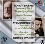 """Saint-Sa�ns: Symphony No. 3 (""""Organ""""); Mussorgsky: Pictures at an Exhibition"""