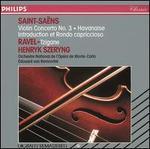 Saint-Saëns: Violin Concerto No. 3; Havanaise; Ravel: Tzigane