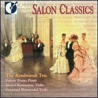 Salon Classics - Coenraad Bloemendal (cello); Gerard Kantarjian (violin); Valerie Tryon (piano)