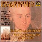 Sammartini: Pianto di Maddalena al Seprolcro / Il pianto delle pie Donne