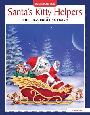 Santa's Kitty Helpers Holiday Coloring Book - Harai, Kayomi
