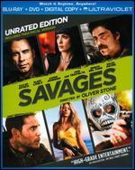 Savages [Unrated] [2 Discs] [Includes Digital Copy] [UltraViolet] [Blu-ray/DVD]