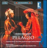Saviero Mercadante: Pelagio - Clara Polito (vocals); Costantino Finucci (vocals); Cristian Camilo Navarro Diaz (vocals); Danilo Formaggia (vocals);...
