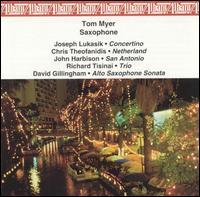 Saxophone - Pamela Eldridge (harp); Paul Erhard (double bass); Robert Spillman (piano); Tanya Gille (piano); Tom Myer (saxophone)