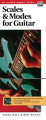 Scales & Modes for Guitar: Handy Guide - Hall, Steve, Mr., and Manus, Ron