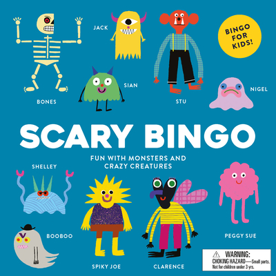 Scary Bingo: Fun with Monsters and Crazy Creatures - Hodgson, Rob