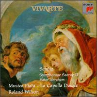 Schütz: Symphoniae Sacrae II; Vater Abraham - Annette Sichelschmidt (violin); Bas Ramselarr (bass); David Cordier (alto); Detlef Reimers (sackbut);...