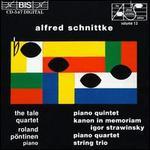 Schnittke: Piano Quintet, String Trio, etc.