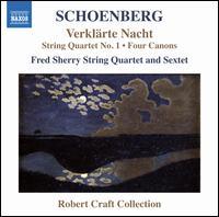 Schoenberg: Verklärte Nacht; String Quartet No. 1; Four Canons - Fred Sherry String Quartet; Fred Sherry String Sextet