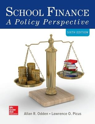 School Finance: A Policy Perspective - Odden