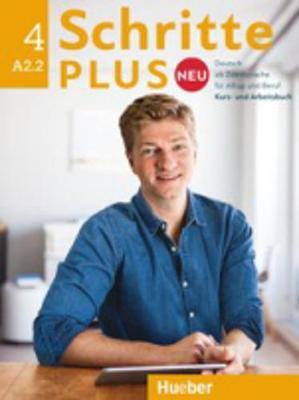 Schritte Plus Neu - sechsbandige Ausgabe: Kurs- und Arbeitsbuch A2.2 + CD zum - Niebisch, Daniela, and Pude, Angela, and Reimann, Monika