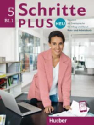 Schritte Plus Neu - sechsbandige Ausgabe: Kurs - und Arbeitsbuch B1.1 + CD zum - Hilpert, Silke, and Pude, Angela, and Schumann, Anja