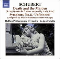 Schubert: Death and the Maiden; Symphony No. 8 'Unfinished' - Buffalo Philharmonic Orchestra; JoAnn Falletta (conductor)