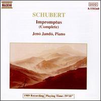 Schubert: Impromptus (Complete) - Jenö Jandó (piano)