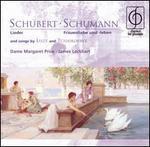 Schubert: Lieder; Schumann: Frauenliebe und -leben