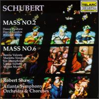 Schubert: Masses Nos. 2 & 6 - Benita Valente (soprano); David Gordon (tenor); Dawn Upshaw (soprano); Jon Humphrey (tenor);...