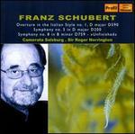 Schubert: Overture in the Italian Style; Symphonies Nos. 3 & 8