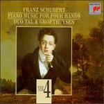 Schubert: Piano Music for Four Hands, Vol. 4