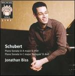 Schubert: Piano Sonata in A major D959; Piano Sonata in C major 'Reliquie' D840