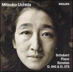 Schubert Piano Sonatas D845 & D575