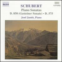 Schubert: Piano Sonatas - Jenö Jandó (piano)