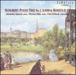 Schubert: Piano Trio No. 1, D. 898; Sonata D. 28