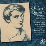 Schubert: Quartets for Four Solo Voices