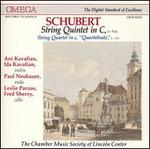 Schubert: Quintet in C; Quartettsatz in C minor