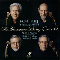 Schubert: String Quartet Nos. 13 & 14 - Arnold Steinhardt (violin); David Soyer (cello); Guarneri Quartet; John Dalley (violin); Michael Tree (viola)