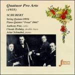 Schubert: String Quintet In C/Piano Quintet In A
