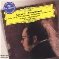 "Schubert: Symphonien Nos. 3 & 8 ""Unvollendete"" - Wiener Philharmoniker; Carlos Kleiber (conductor)"
