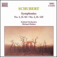 Schubert: Symphonies Nos. 1 and 2 - Failoni Orchestra; Michael Halász (conductor)
