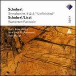 """Schubert: Symphonies Nos. 3 & 8 """"Unfinished""""; Schubert/Liszt: Wanderer-Fantasie"""