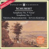 Schubert: Symphonies Nos. 5 & 9 - Istvan Kertesz (conductor)