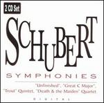 "Schubert: Symphonies ""Unfinished"", ""Great C major""; ""Trout"" Quintet; ""Death & the Maiden"" Quartet"