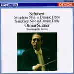 Schubert: Symphony No. 3; Symphony No. 6