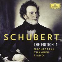 Schubert: The Edition 1 - Orchestral, Chamber, Piano - Alfons Kontarsky (piano); Alfred Brendel (piano); Alois Posch (double bass); Aloys Kontarsky (piano);...