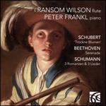 Schubert: Trockne Blume; Beethoven: Serenade; Schumann: 3 Romanzen; 3 Lieder
