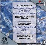 "Schubert: ""Trout"" Quintet, D667; Mozart: Clarinet Quintet, KV581"