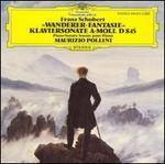 Schubert: Wanderer-Fantasie; Klaviersonate a-moll, D845