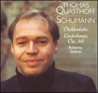 Schumann: Dichterliebe; Liederkreis, Op. 39 - Roberto Szidon (piano); Thomas Quasthoff (baritone)