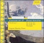 Schumann: Fantasie Op. 17; Beethoven: Piano Sonatas Nos. 13 & 14