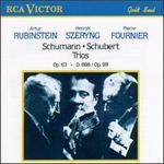Schumann, Schubert: Trios