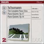 Schumann: The Complete Piano Trios; Piano Quartet; Piano Quintet - Beaux Arts Trio; Bernard Greenhouse (viola); Dolf Bettelheim (violin); Isidore Cohen (violin); Menahem Pressler (piano); Samuel Rhodes (viola)
