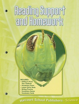 Science Reading Support and Homework, Grade 6 - Harcourt School Publishers (Creator)