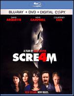 Scream 4 [2 Discs] [Includes Digital Copy] [Blu-ray/DVD] - Wes Craven