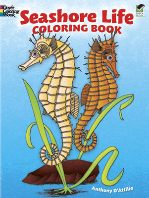 Seashore Life Coloring Book - D'Attilio, Anthony, and Coloring Books, and Sea Life