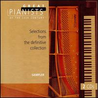 Selections from the Definitive Collection (Series Sampler) - Alexis Weissenberg (piano); Alfred Brendel (piano); Alfred Cortot (piano); Alicia de Larrocha (piano); András Schiff (piano);...